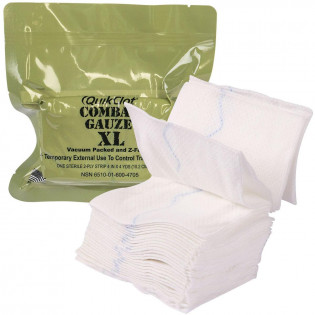 The QuikClot Combat Gauze XL, Military