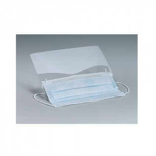 The Plastic Eye Shield w/ Ear Loop Mask - Clear