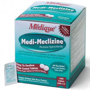 The Medique Medi-Meclizine, 1000/box
