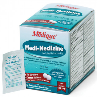The Medique Medi-Meclizine, 100/box