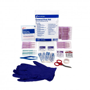 The First Aid Triage Pack - General First Aid (without meds)