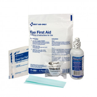 The First Aid Triage Pack - Eye Wound Treatment