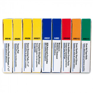 The First Aid Only® SmartPak™ Refill Brick for 10 Unit First Aid Kits: 238-AN & 240-AN
