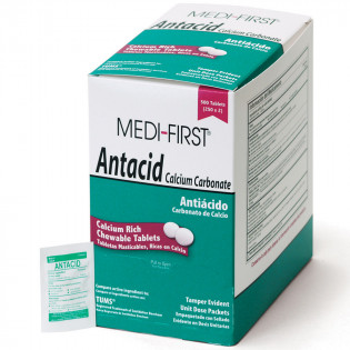 The Medi-First Antacid, 500/box