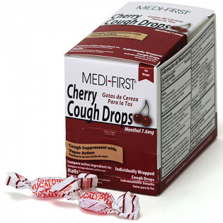 The Medi-First Cherry Cough Drops, 50/box