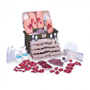 The Simulaids Advanced Military Casualty Simulation Kit