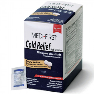 The Medi-First Cold Relief, 500/box