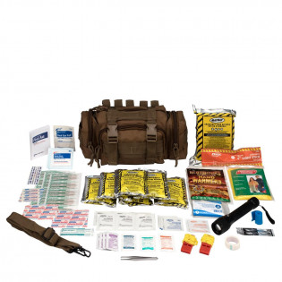 The Emergency Preparedness, 1 Person, Tan Fabric Bag