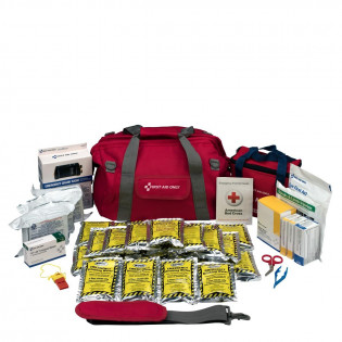 The Emergency Preparedness, 24 Person, Large Fabric Bag