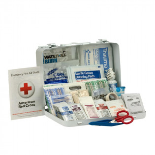 The First Aid Only 25 Person First Aid Kit, ANSI A+, Metal Case
