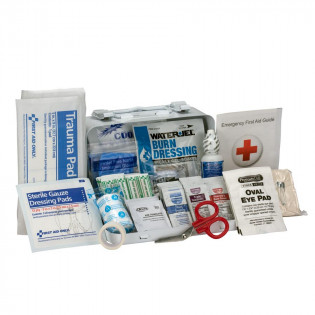 The First Aid Only 10 Person Bulk ANSI A, Metal