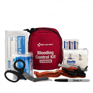 The Bleeding Control Kit - Standard, Fabric Case