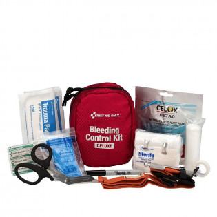 The Bleeding Control Kit - Deluxe, Fabric Case