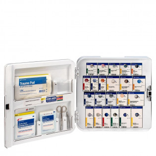 The Smart Compliance Complete Cabinet ANSI A+ w/Meds, Plastic