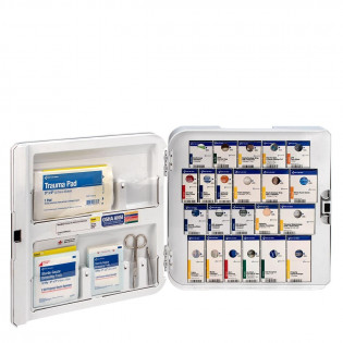 The Smart Compliance Complete Cabinet ANSI A+ No Meds, Plastic