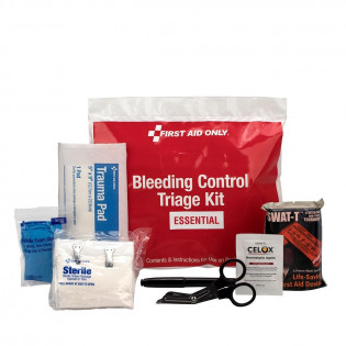 The Bleeding Control Triage Kit - Essential, Plastic Bag
