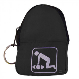 The American CPR Training™ CPR Black Beltloop/KeyChain BackPack