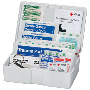 The American Red Cross 43 Piece Personal Plastic First Aid Kit