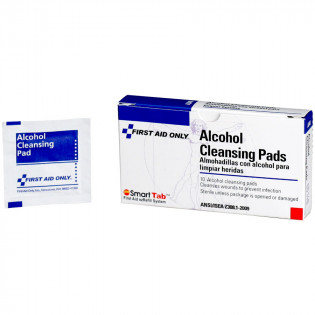 The First Aid Only® Alcohol Cleansing Pad - 10 Per Box