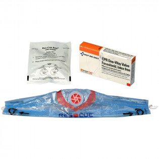 The First Aid Only® CPR Faceshield - 1 Per Box