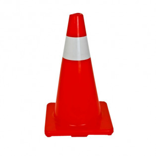 "Industrial 18"" Orange Traffic Cones"