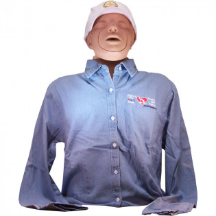 The American CPR Training™ / AEHS Women's Instructor Shirt - XL