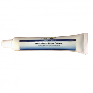 Brushless Shave Cream Tube