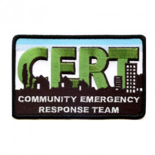 The C.E.R.T. Logo Patch