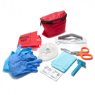 The Defibtech AED Rescue Pack