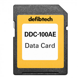 The Defibtech High Capacity Data Card (100-minutes, Audio)