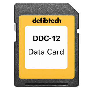 The Defibtech High Capacity Data Card (12-hours, no audio)
