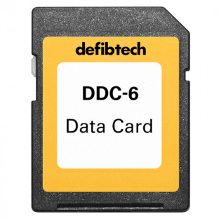 The Defibtech Medium Capacity Data Card (6-hours, no audio)