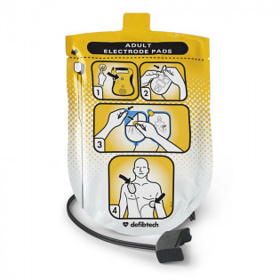 The Defibtech Adult Defibrillation Pads Package
