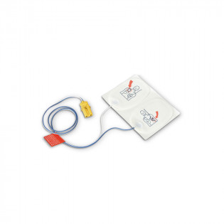 The Defibtech Adult Training Pads, 1set pads & connector
