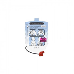 The Defibtech Pediatric Training Pads, 1 set pads & Connector