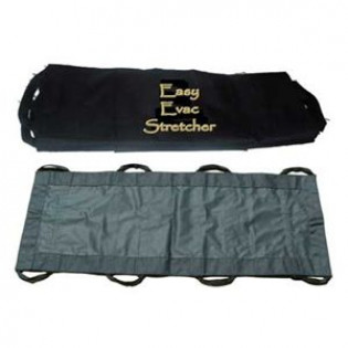 The MayDay Industries Emergency Gear Easy EVAC Roll Stretcher Kit - 13 Pieces