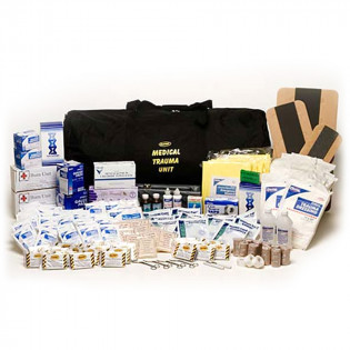 The MayDay Brand 50 Person, First Aid Trauma Medical Kit