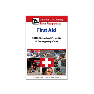 The American CPR Training™ OSHA Standard First Aid Student 10 Pack