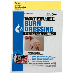 "The First Aid Only® 2"" X 6"" Water Jel®  Burn Dressing, 1 Each - SmartTab EzRefill"