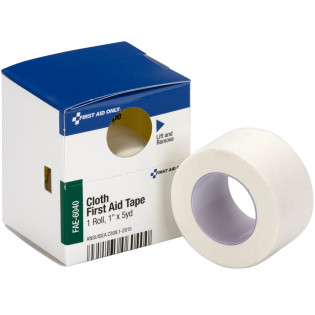"The First Aid Only® 1"" x 5 Yd. Cloth Tape, 1 Each - SmartTab EzRefill"
