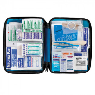 The First Aid Only® All Purpose First Aid Kit, Softsided, 200 Pieces - Medium