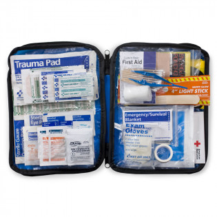 The First Aid Only® 143 Piece Extra Large, Auto Soft Sided First Aid Kit