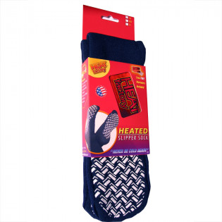 The Heat Factory® Slipper Sock w/ Warmers - Small, 1 Pair