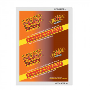 The Heat Factory® Heat Factory Mini Size Warmer, 1 Pair