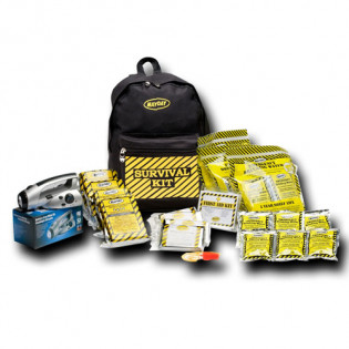 The MayDay Brand Economy Emergency Kit - 4 Person - Backpack