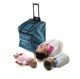 The Laerdal® Little Family Pack - Dark Skin