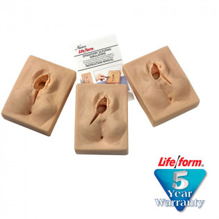 The Life/form® Set of 3 Lifeform Episiotomy Suturing Simulators