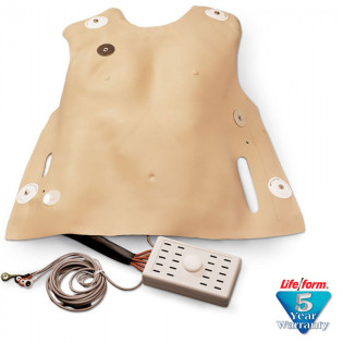 The Life/form® Defibrillation Chest Skin