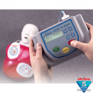 The NASCO AED Trainer with Basic Buddy