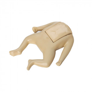The CPR Prompt™ Coated Infant Mannequin Assembly - Tan